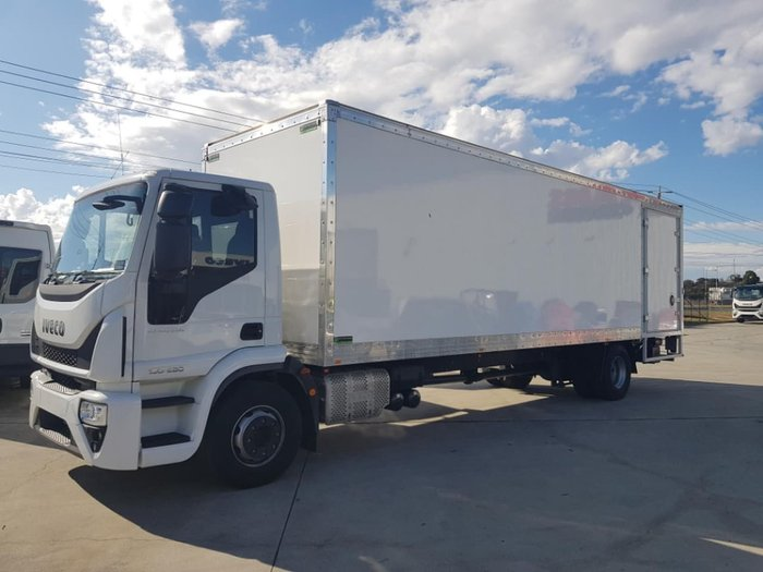 2020 IVECO ML160 E6 PANTECH & TAILGATE LOADER null null White