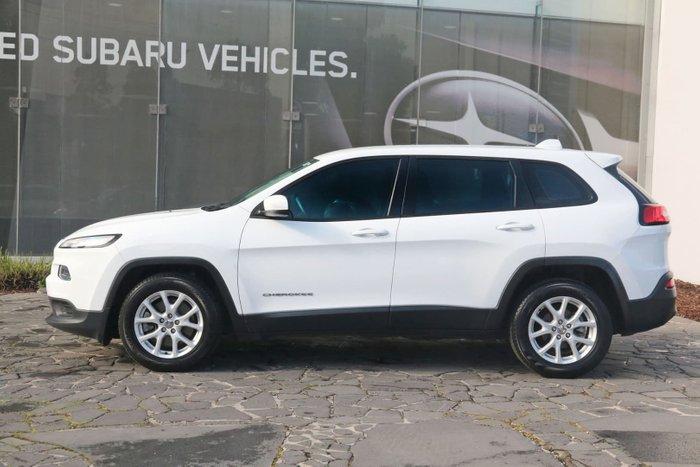 2014 Jeep Cherokee Sport KL MY15 White