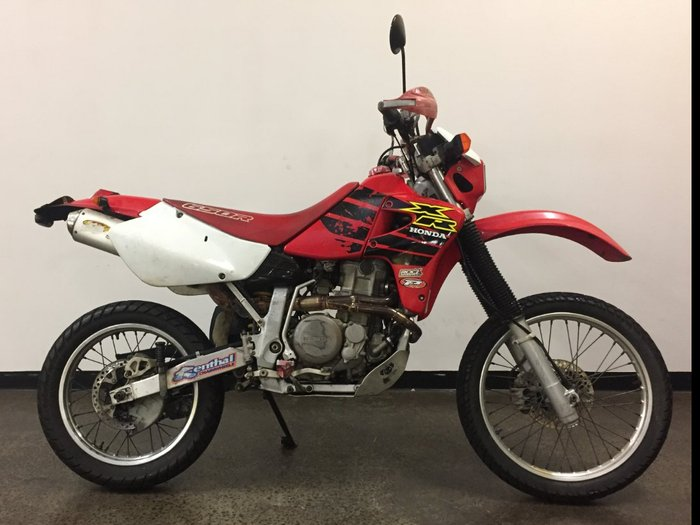 2000 Honda XR650R Red