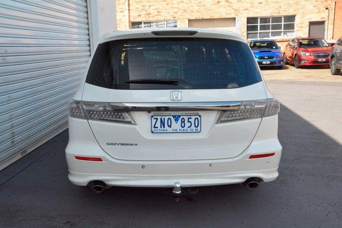 2012 Honda Odyssey Luxury 4th Gen MY12 White