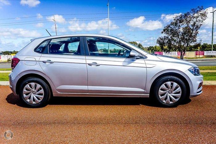 2019 Volkswagen Polo 70TSI Trendline AW MY19 Silver