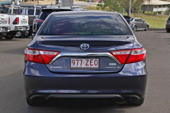 2017 Toyota Camry Atara SL AVV50R Blue