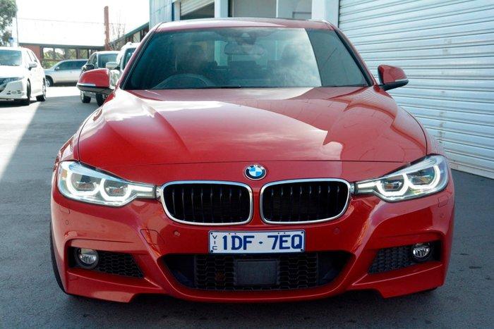 2015 BMW 340i M Sport F30 LCI Red