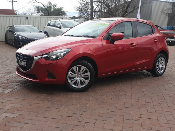2015 Mazda 2 Neo DJ Series Red
