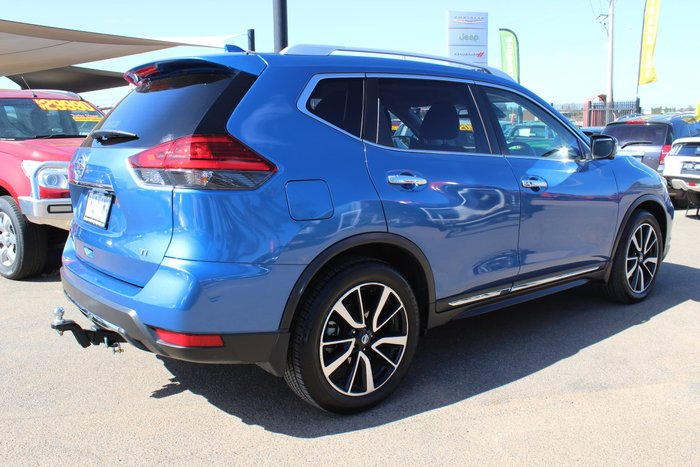 2017 Nissan X-TRAIL Ti T32 Series II 4X4 On Demand Blue