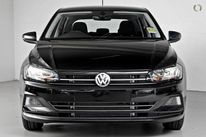 2019 Volkswagen Polo 85TSI Comfortline AW MY19 Black