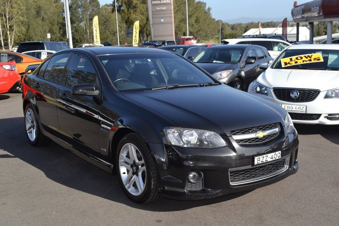 2011 Holden Commodore SV6 VE Series II MY12 Black