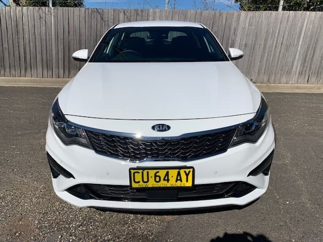 2017 Kia Optima GT JF MY18 White