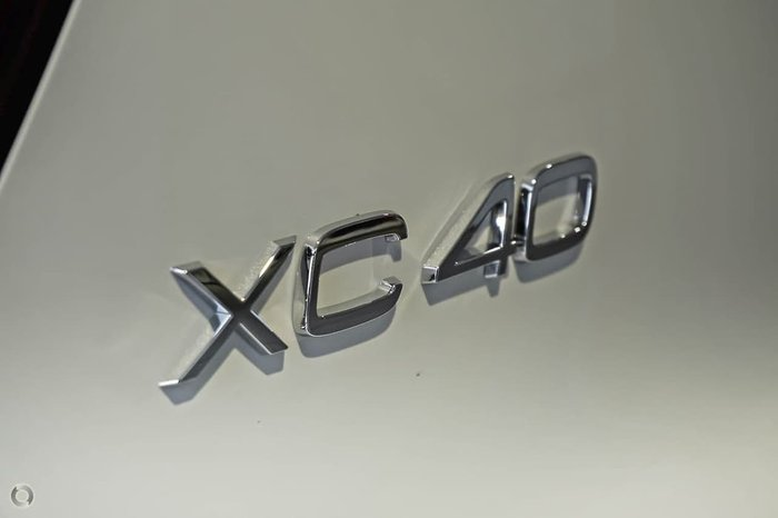 2019 Volvo XC40 T5 R-Design MY20 Four Wheel Drive White