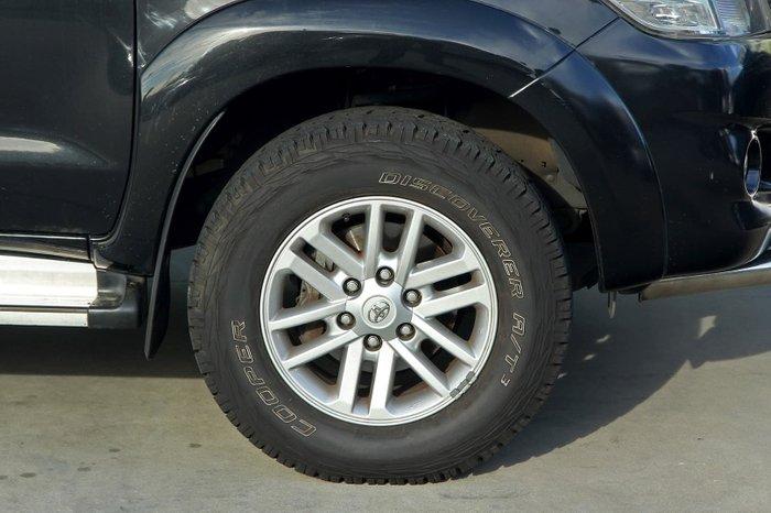 2013 Toyota Hilux SR5 KUN26R MY12 4X4 Black