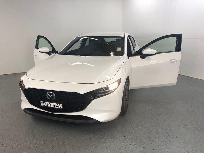 2019 Mazda 3 G20 Touring BP Series White