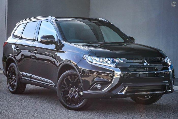 2019 Mitsubishi Outlander Black Edition ZL MY19 Black