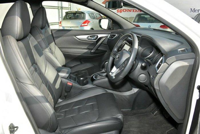 2018 Nissan QASHQAI Ti J11 Series 2 IVORY PEARL