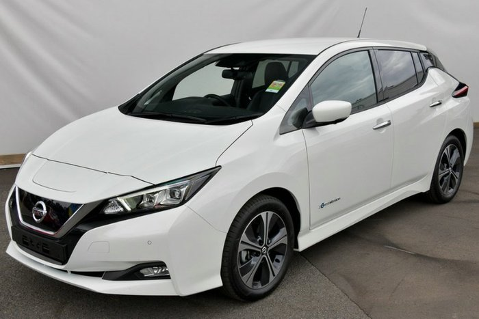 2019 Nissan LEAF ZE1 ARTIC WHITE