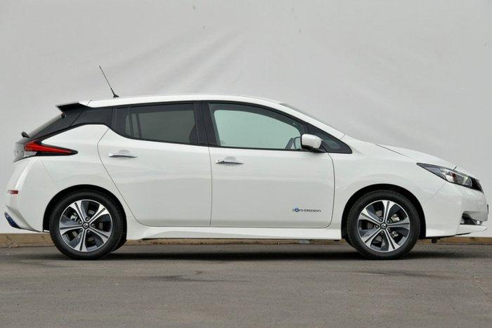 2019 Nissan LEAF ZE1 ARTIC WHITE