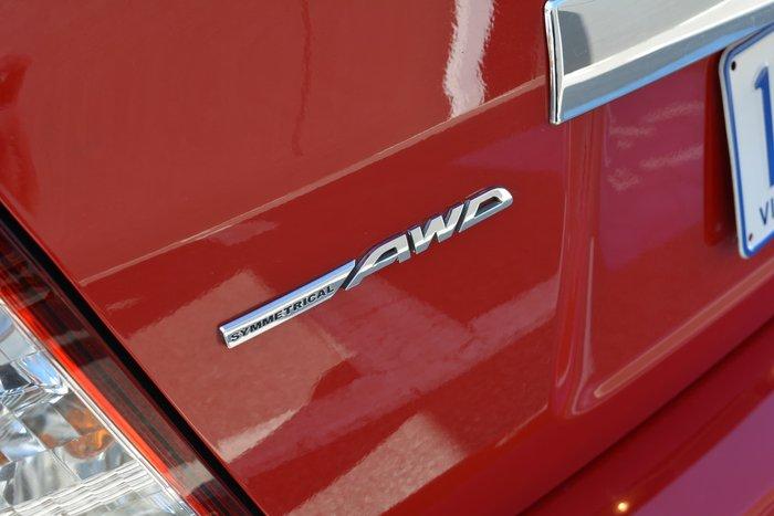2009 Subaru Impreza R G3 MY09 Four Wheel Drive Red