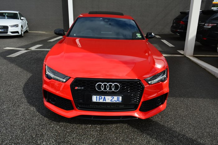 2016 Audi RS7 performance 4G MY16 Four Wheel Drive Red