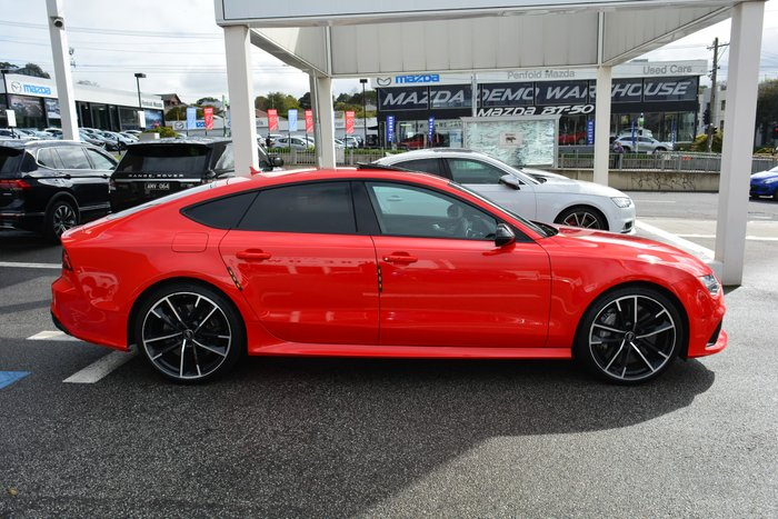2016 Audi RS7 performance 4G MY17 Four Wheel Drive Red