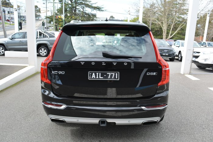 2016 Volvo XC90 D5 Inscription MY16 4X4 On Demand Black