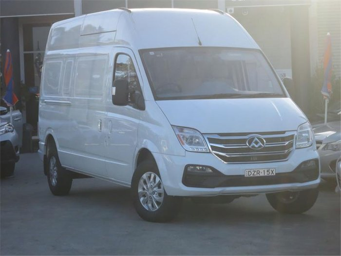 2019 LDV V80 LWB HIGH K1 MY19 BLANC WHITE