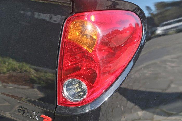 2012 Mitsubishi Triton GLX-R MN MY12 4X4 Dual Range Black
