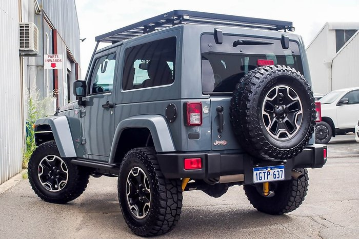 2013 Jeep Wrangler Unlimited Rubicon 10th Anniversary JK MY13 4X4 Green