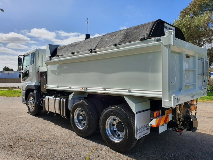 2019 FUSO SHOGUN AMT TIPPER - UNBELIEVABLE DEALS NOW ON, ACROSS RANGE! null null WHITE