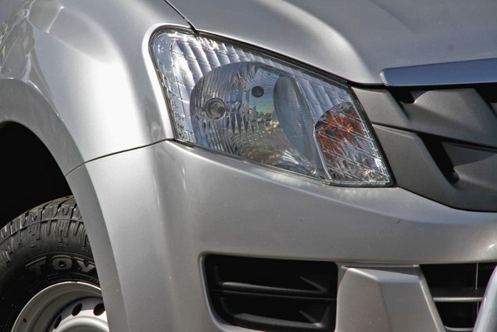 2016 Isuzu D-MAX SX MY15.5 4X4 Dual Range Grey