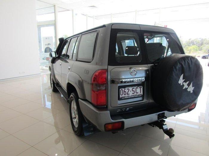 2008 Nissan Patrol ST GU 6 MY08 4X4 Dual Range Silver