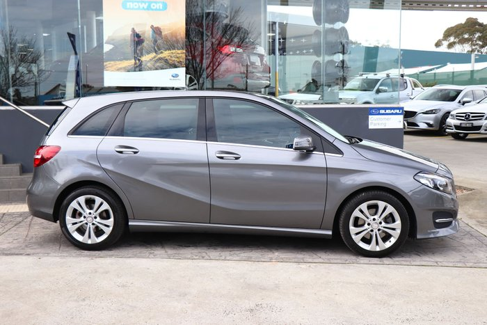 2015 Mercedes-Benz B200 W246 Grey