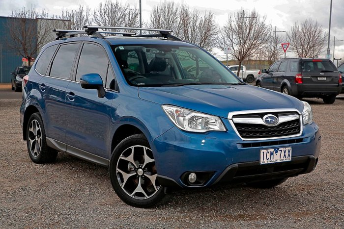 2013 Subaru Forester 2.5i-S S4 MY13 Four Wheel Drive Blue
