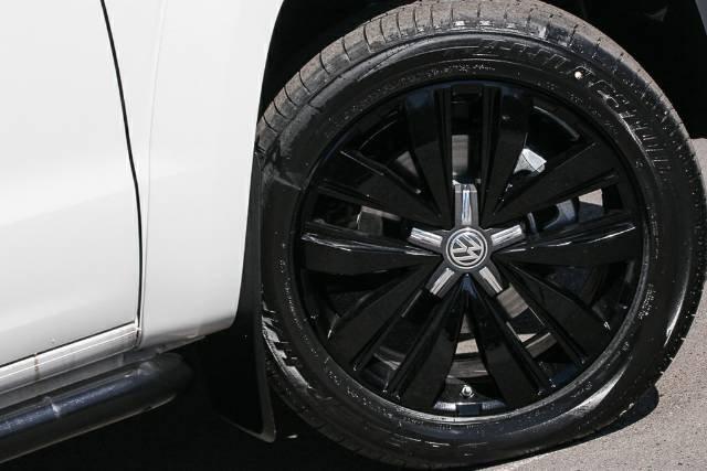 2019 Volkswagen Amarok TDI580 Highline Black 2H MY19 4X4 Constant CANDY WHITE