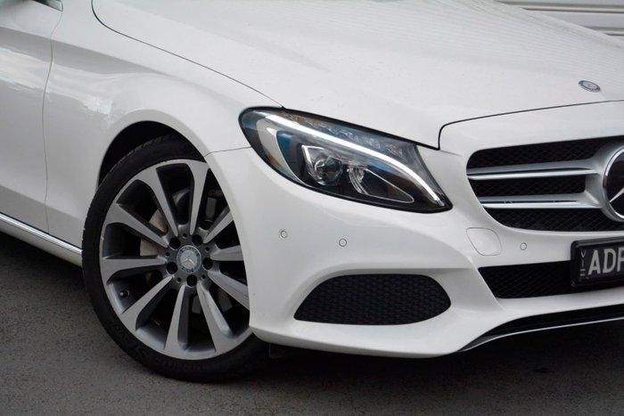 2015 Mercedes-Benz C-Class C250 S205 White