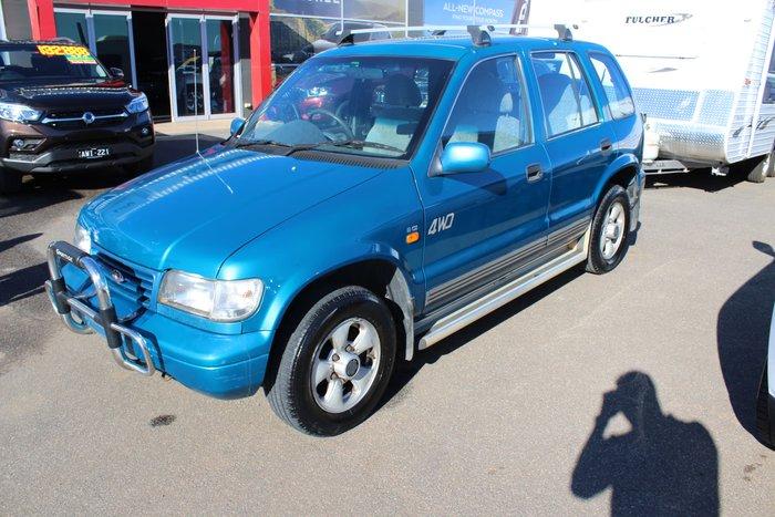 1999 Kia Sportage FX 4X4 Blue