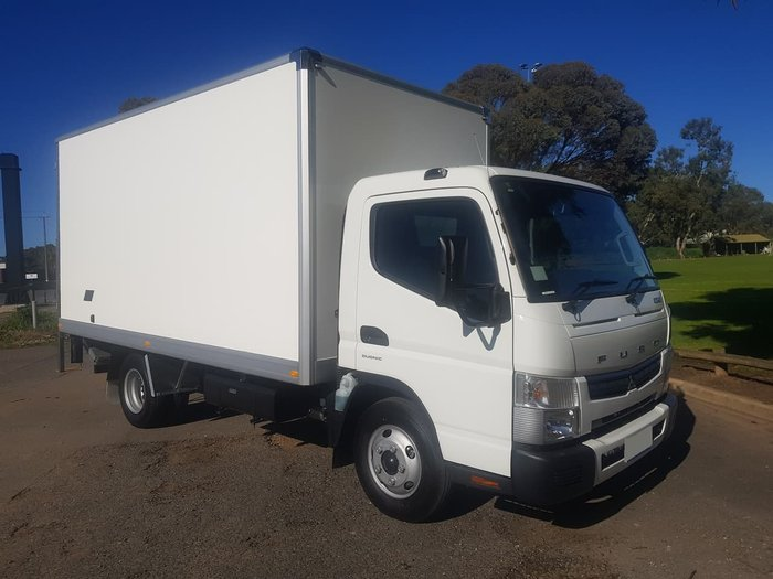 2019 FUSO CANTER 615 WIDECAB AUTO DCT AMT BUILT READY PAN & LOADER null null null