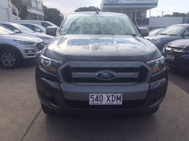 2016 Ford Ranger XLS PX MkII 4X4 Dual Range Grey