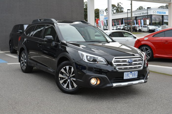 2016 Subaru Outback 2.5i Premium 5GEN MY16 Four Wheel Drive Black