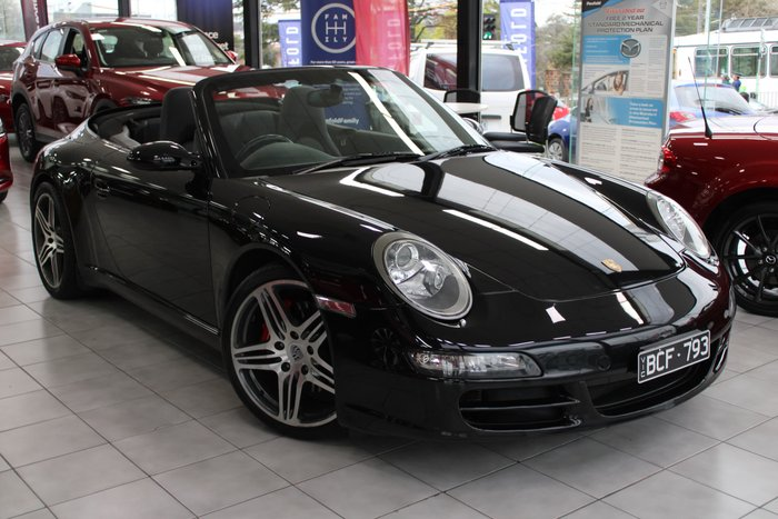 2006 Porsche 911 Carrera S 997 MY06 Black