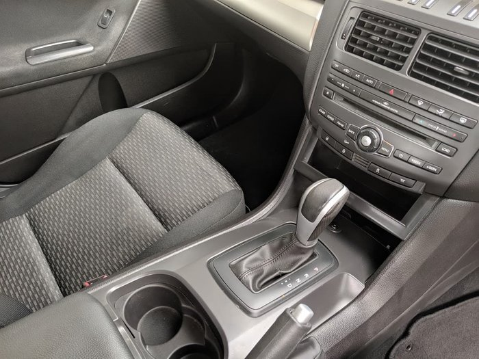 2010 Ford Falcon XT FG Silver