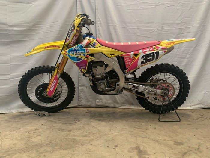2018 Suzuki RM-Z450 Yellow