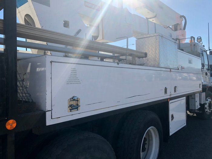 2007 Isuzu FVZ1400 ALLISON AUTO LOW KM'S WHITE