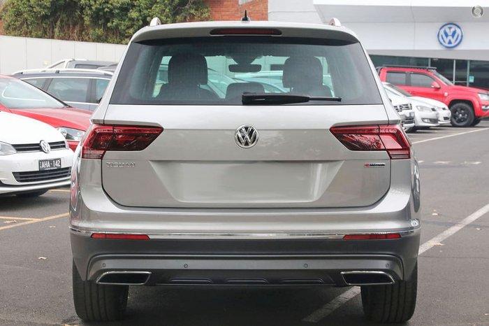 2019 Volkswagen Tiguan 162TSI Highline 5N MY19.5 Four Wheel Drive Silver