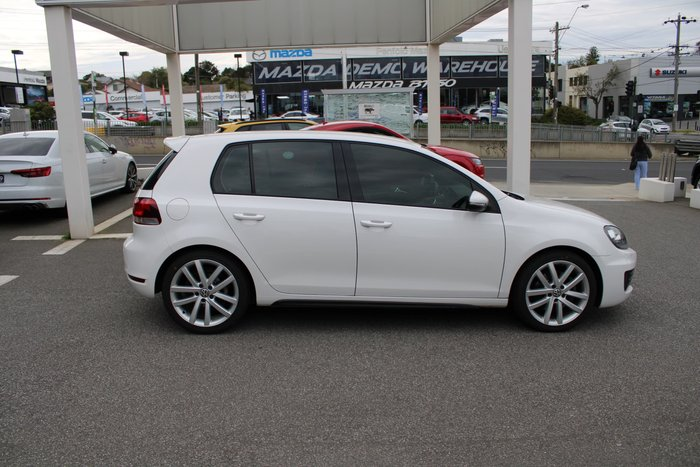 2011 Volkswagen Golf GTD VI MY12 White
