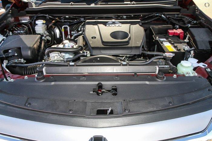 2019 Mitsubishi Pajero Sport GLS QE MY19 4X4 Dual Range Red