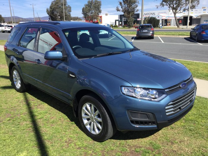 2016 Ford Territory TX SZ MkII Blue
