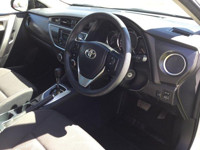 2014 Toyota Corolla Ascent ZRE182R White