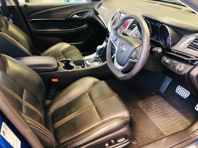 2017 Holden Commodore SS V Redline VF Series II MY17 Slipstream Blue