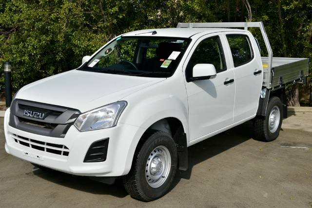 2019 Isuzu D-MAX SX High Ride MY19 SPLASH WHITE