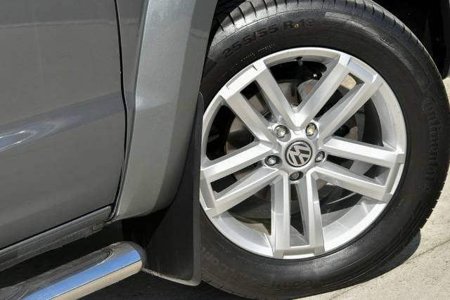 2014 Volkswagen Amarok TDI420 Ultimate 2H MY14 4X4 Constant GREY