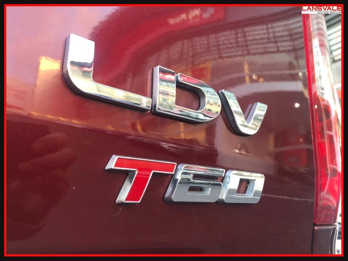 2019 LDV T60 LUXE SK8C LAVA GRAY